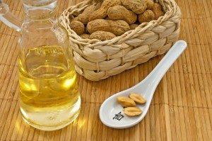 Erdnussöl für die Küche