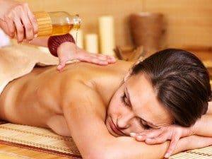 Erdnussöl zur Massage